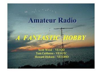 Ham Radio Class Intro Sept 2013web - Halifax Amateur Radio Club