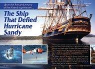 The Ship That Defied Hurricane Sandy - ZMAN Magazine