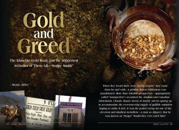 Gold & Greed - ZMAN Magazine