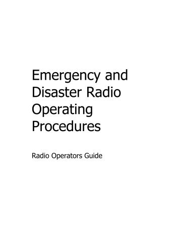 Controlled Operational Emergency Shut Down Procedures