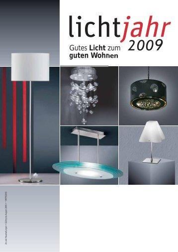 Gutes Licht zum guten Wohnen - Elektro Schlesinger GmbH