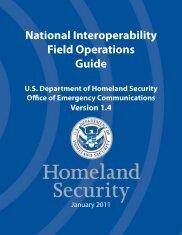 National Interoperability Field Operations Guide - Ed & Trish Koch