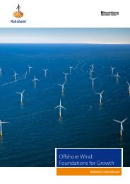 Offshore Wind: Foundations for Growth - NWEA