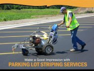 Parking Lot Striping and Painting Services in San Diego