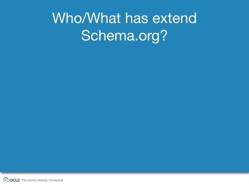 Extending Schema.org