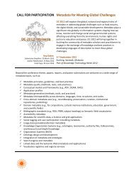 formated version - Dublin Core® Metadata Initiative