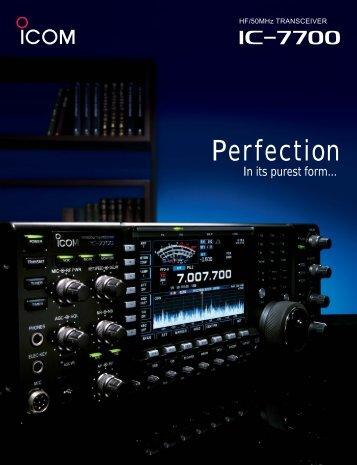 IC-7700 brochure.pdf - Tampa Amateur Radio Club
