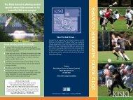 Summer Sports Academy - The Kiski School
