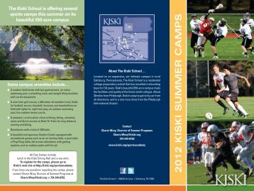 Summer Sports Academy - The Kiski School