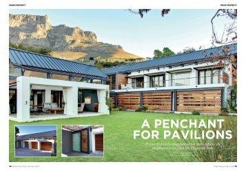 A penchAnt for pAvilions - Paolo Deliperi - Architect