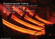 Electromagnetic testing emt chapter 14 - primary metals application
