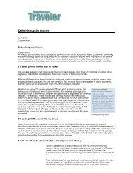 Debunking the myths - TravelTax