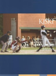 View Book - Athletics - The Kiski School