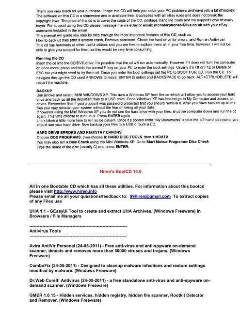 Windows Repairs Programs pdf