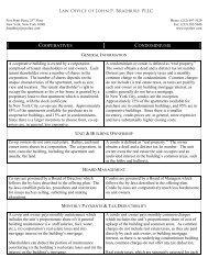 Co-ops vs. Condos - John P. Bradbury