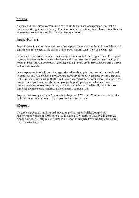 Reports pdf jasper tutorial