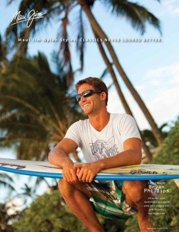 Bryan Phillips - Maui Jim