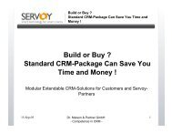 Build or Buy - Servoy