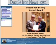 Issue No.2, 2006 - Ductile Iron Society
