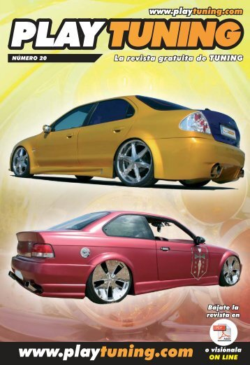 La revista Play Tuning 20