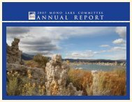 2007 Annual Report for web.indd - Mono Lake Committee