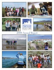 2006 Annual Report to web.indd - Mono Lake Committee