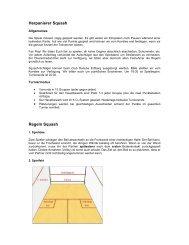 Download Squash Regeln - Herpanierer