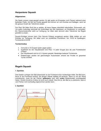 spielregeln squash