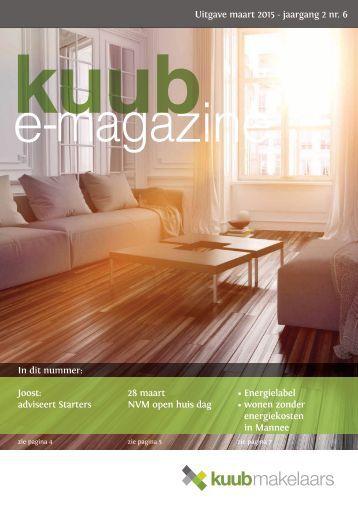 Kuub e-magazine #6 Maart