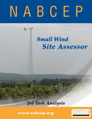 Site Assessor - Small Wind Conference