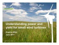 Power - Small Wind Conference