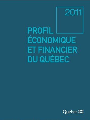 Profil économique et financier du Québec - Édition 2011 - Finances