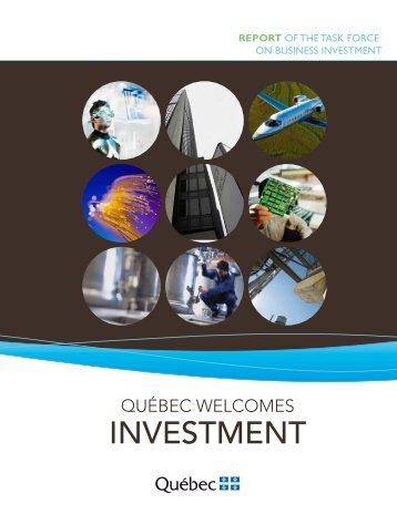 investment - Commission sur le déséquilibre fiscal - Gouvernement ...