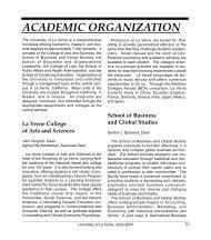 Academic Org (P.13-20) - Faculty Web Hosting - University of La Verne