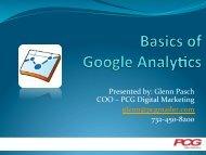 Presented by: Glenn Pasch COO †– PCG Digital ... - DealersEdge