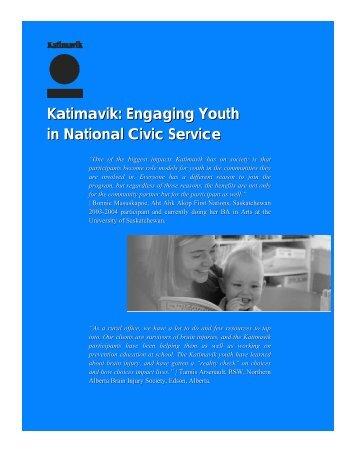 Katimavik: Engaging Youth in National Civic Service