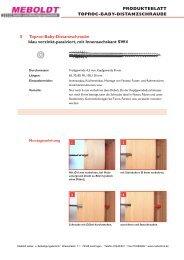 Patent angemeldet NEU - Meboldt