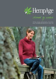 AUTUMN/WINTER 09/10 - HempAge AG