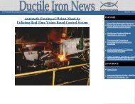 Issue No. 1, 2000 - Ductile Iron Society