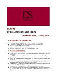 lettre dinfo droit social janvier 08.pub - DS Avocats