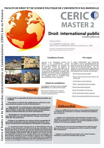 Droit international public - CERIC - Univ-cezanne.fr