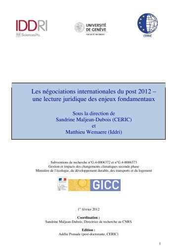 Télécharger le rapport final de recherche - CERIC