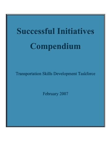 Successful Skills Initiatives - Council of Ministers & Deputy Ministers