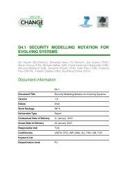 D4.1 SECURITY MODELLING NOTATION FOR ... - SecureChange