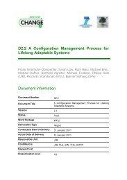 D2.2 A Configuration Management Process for ... - SecureChange
