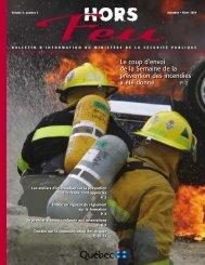 Vol. 5, n° 3, automne-hiver 2004 - Ministère de la Sécurité publique