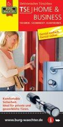 Download Produktbroschüre TSE Home ... - Schlüssel Neisius GmbH