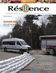 Vol. 4, n o 3, automne-hiver 2009 - Ministère de la Sécurité publique