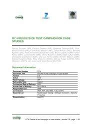 d7.4 results of test campaign on case studies - SecureChange