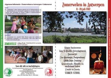Zomerweken in Antwerpen - Macrobiotics Belgium